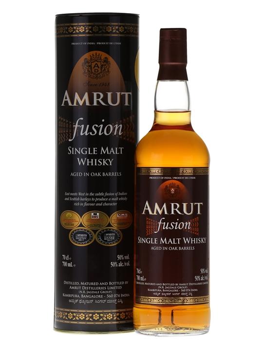 Amrut Fusion (50%)