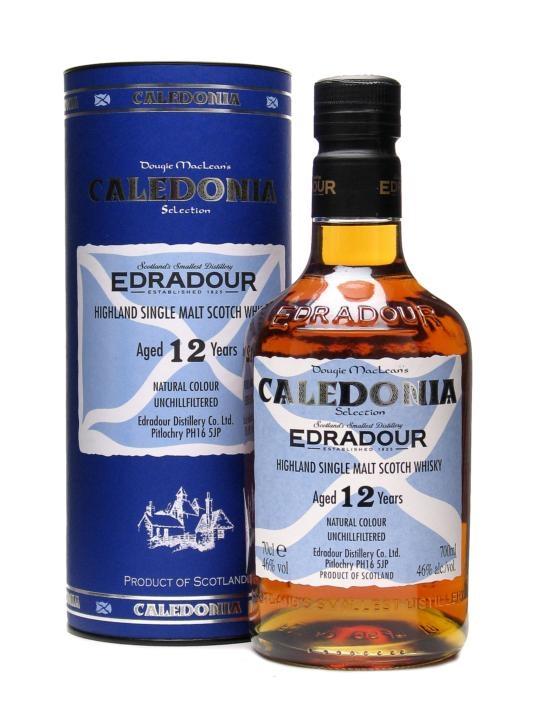 Edradour 12 Year Old Caledonia