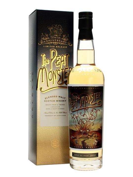 Compass Box The Peat Monster (10th Anniversary)