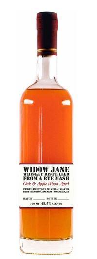 Widow Jane Oak & Apple Wood Aged Rye