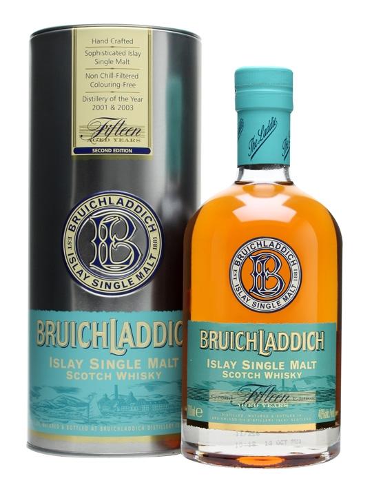 Bruichladdich 15 Year Old, 2nd Edition