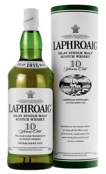 Laphroaig 10 Year Old (old version)