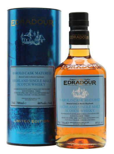 Edradour 2006 Barolo Cask Matured, Batch 3