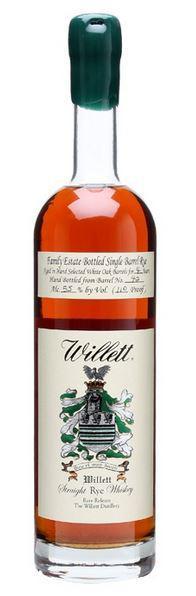 Willett 04 Year Old Single Barrel Rye