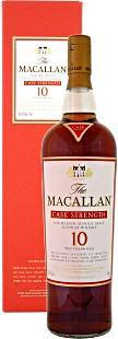 Macallan 10 Year Old Cask Strength