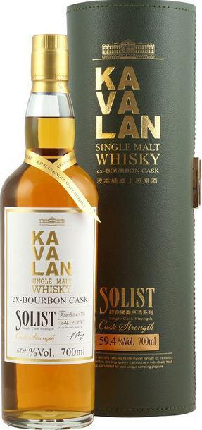 Kavalan Solist, ex-Bourbon cask