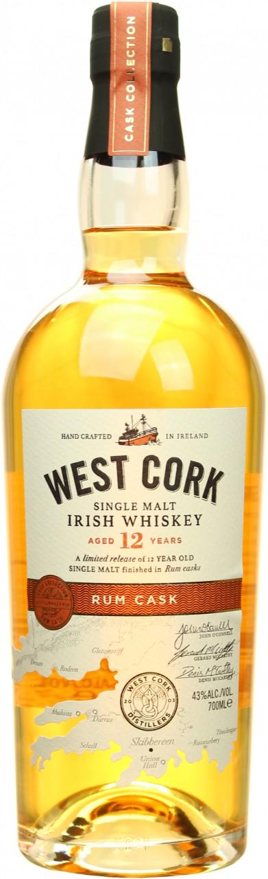 West Cork 12 Year Old Rum Cask