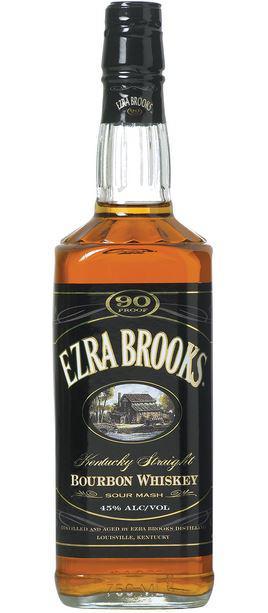 Ezra Brooks Kentucky Straight Bourbon 90 Proof
