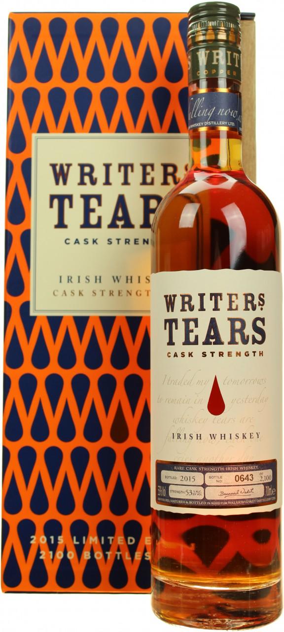 Writers' Tears Cask Strength 2015