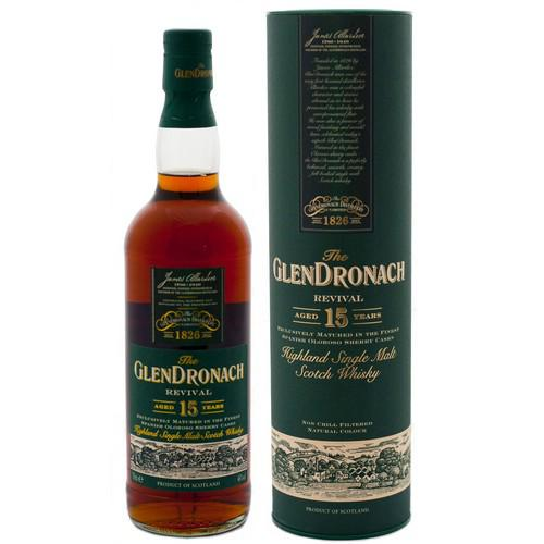 Glendronach 15 Year Old Revival (old version)