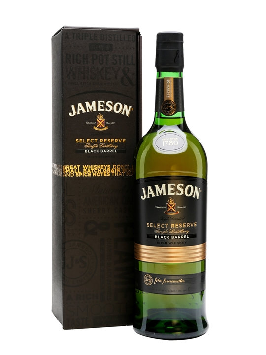 jameson select reserve black barrel reviews prices at. Black Bedroom Furniture Sets. Home Design Ideas