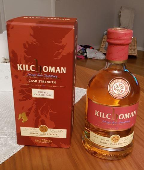 Kilchoman 2007 Single cask Release, cask #070