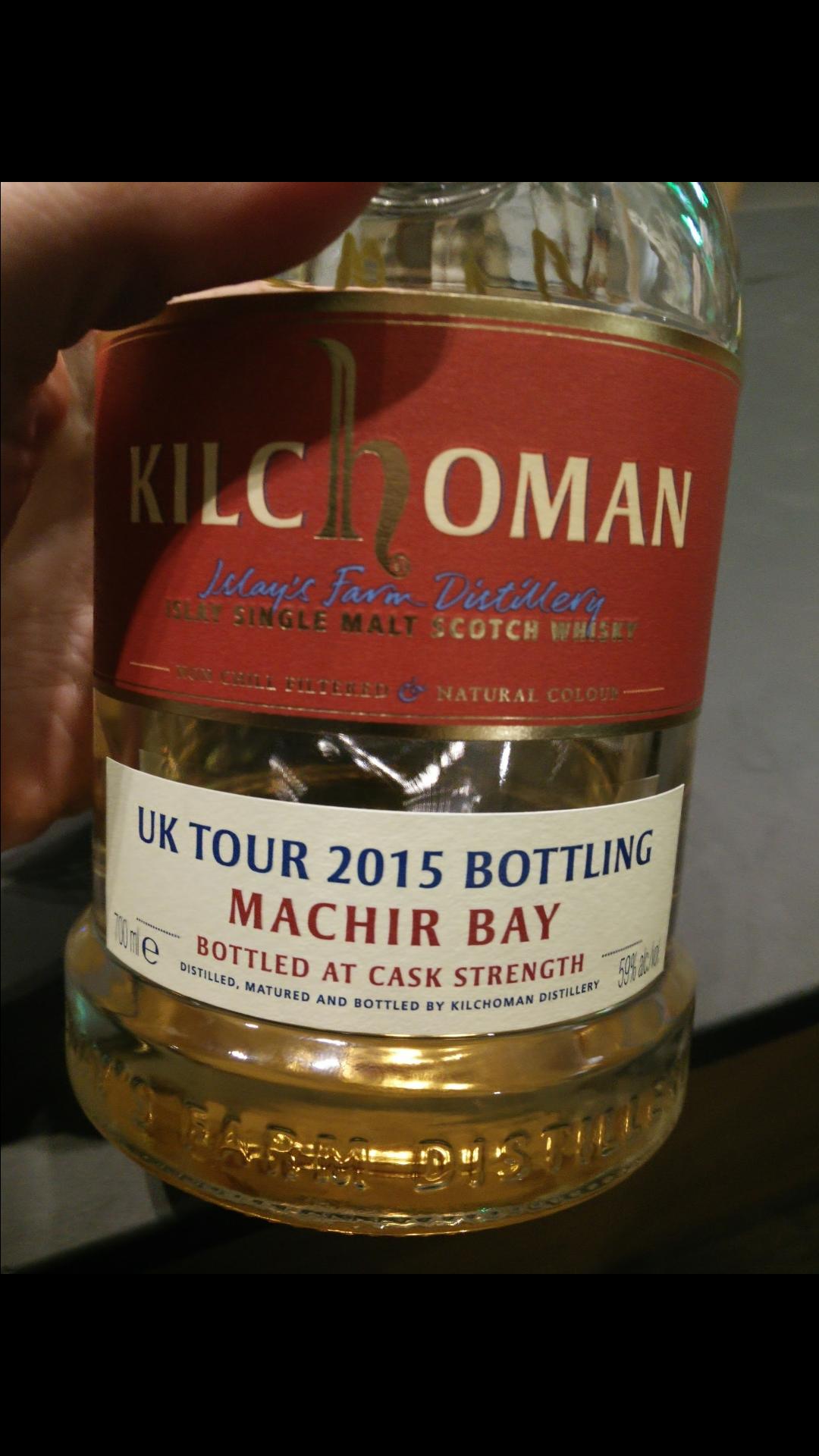 Kilchoman Machir Bay UK Tour 2015