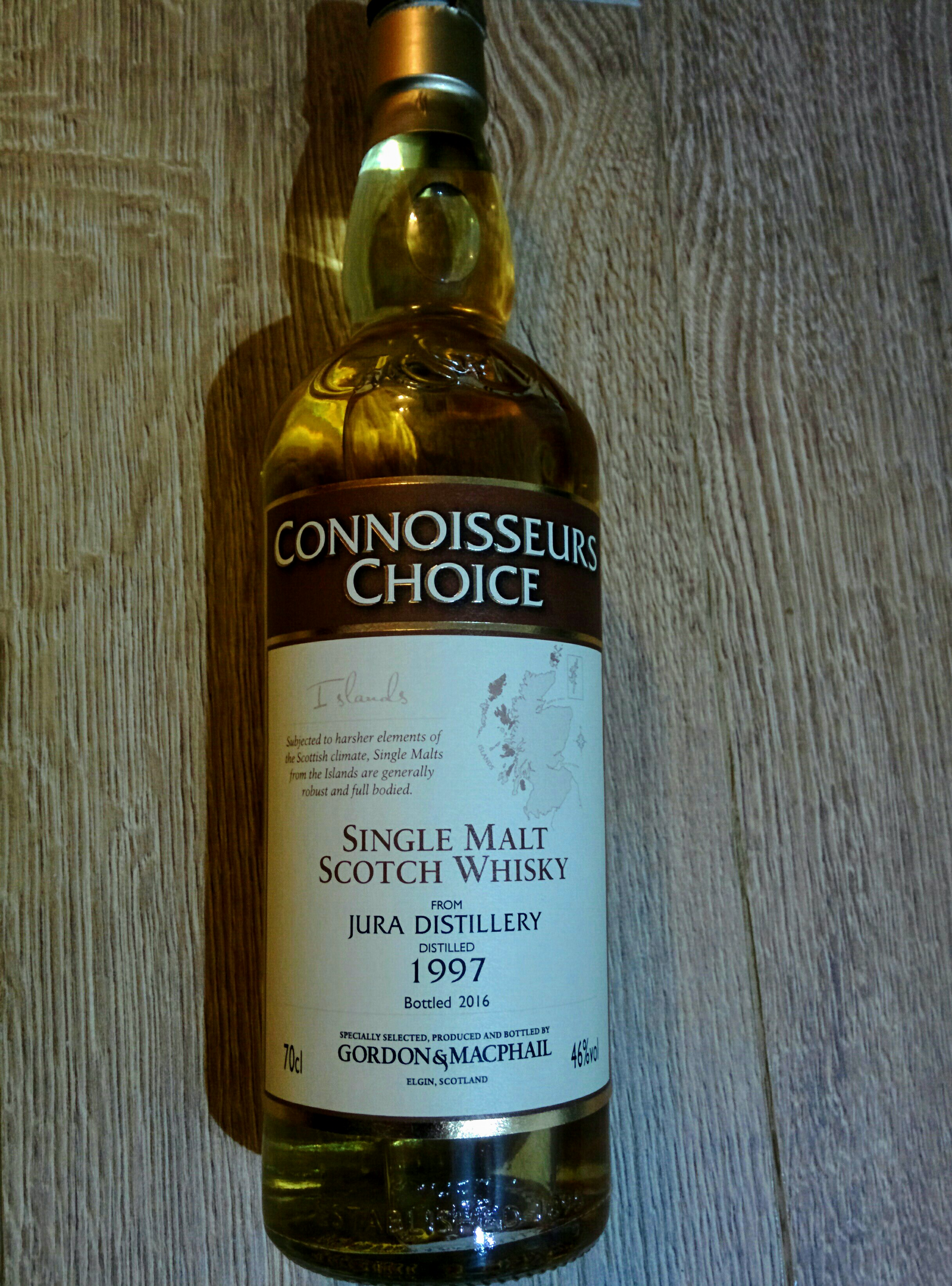 Isle of Jura 1997 (Connoisseurs Choice)