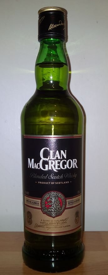 Clan MacGregor Blended Scotch Whisky