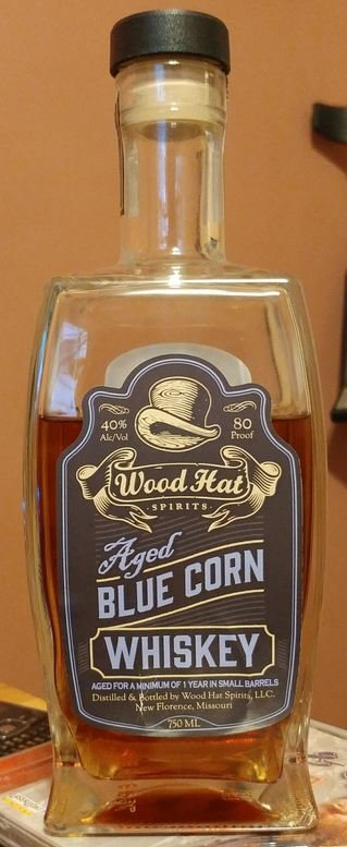 Wood Hat Aged Blue Corn Whiskey