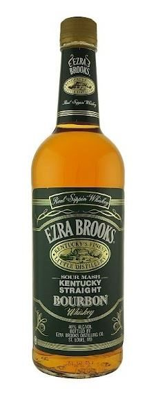 Ezra Brooks Kentucky Straight Bourbon 80 Proof