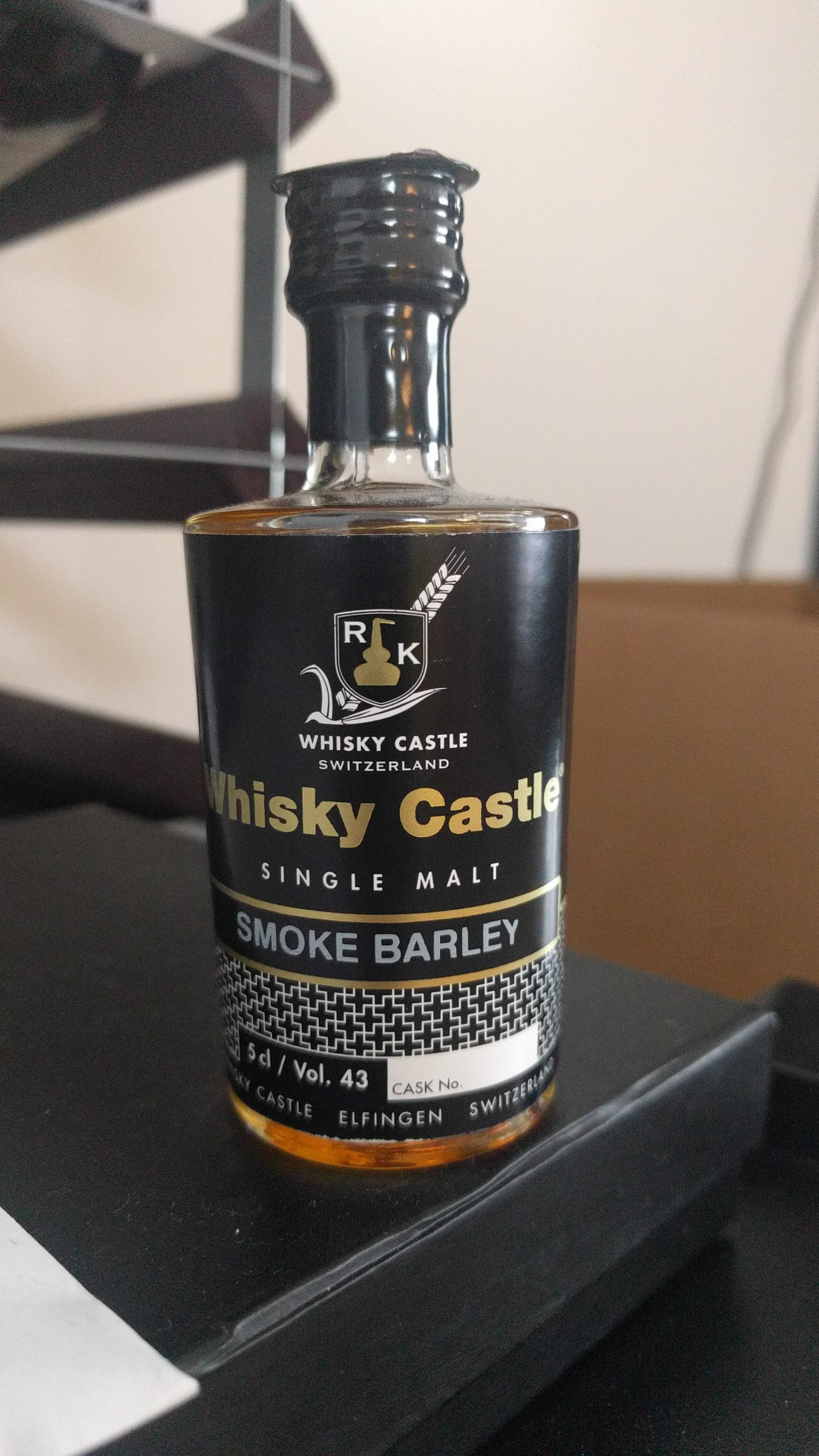 Whisky Castle Smoke Barley