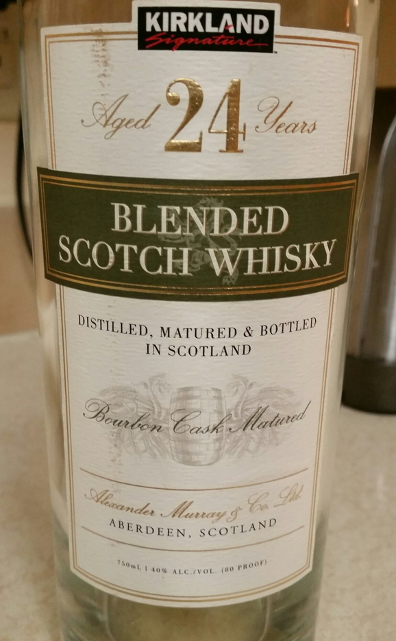 Kirkland Blended Scotch Whisky 24 Year Old