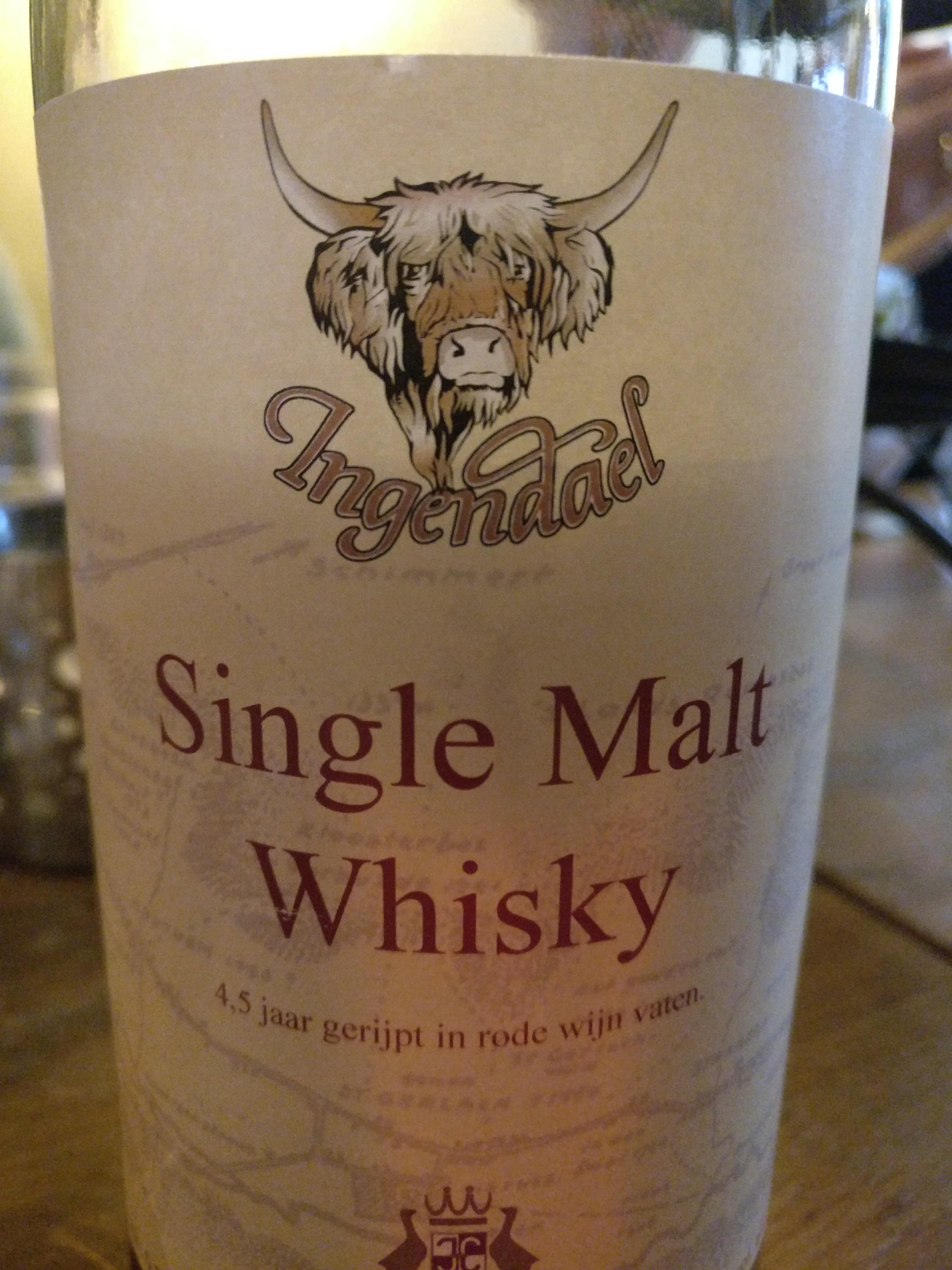 Ingendael Single Malt Whisky
