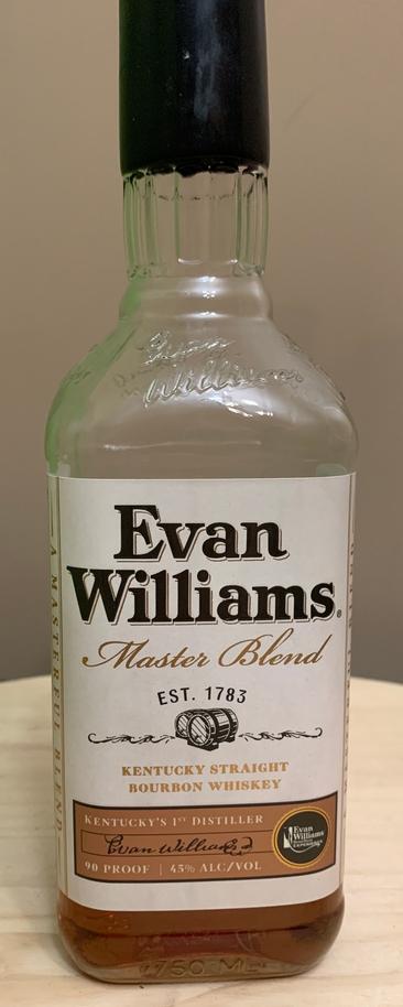 Evan Williams Master Blend