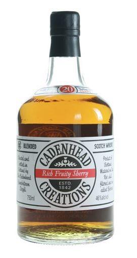 Cadenhead Creations Rich Fruity Sherry 20 Year Old