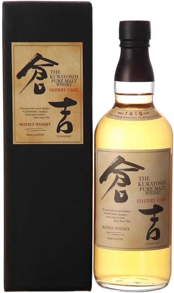 Kurayoshi Pure Malt Sherry Cask (46%)