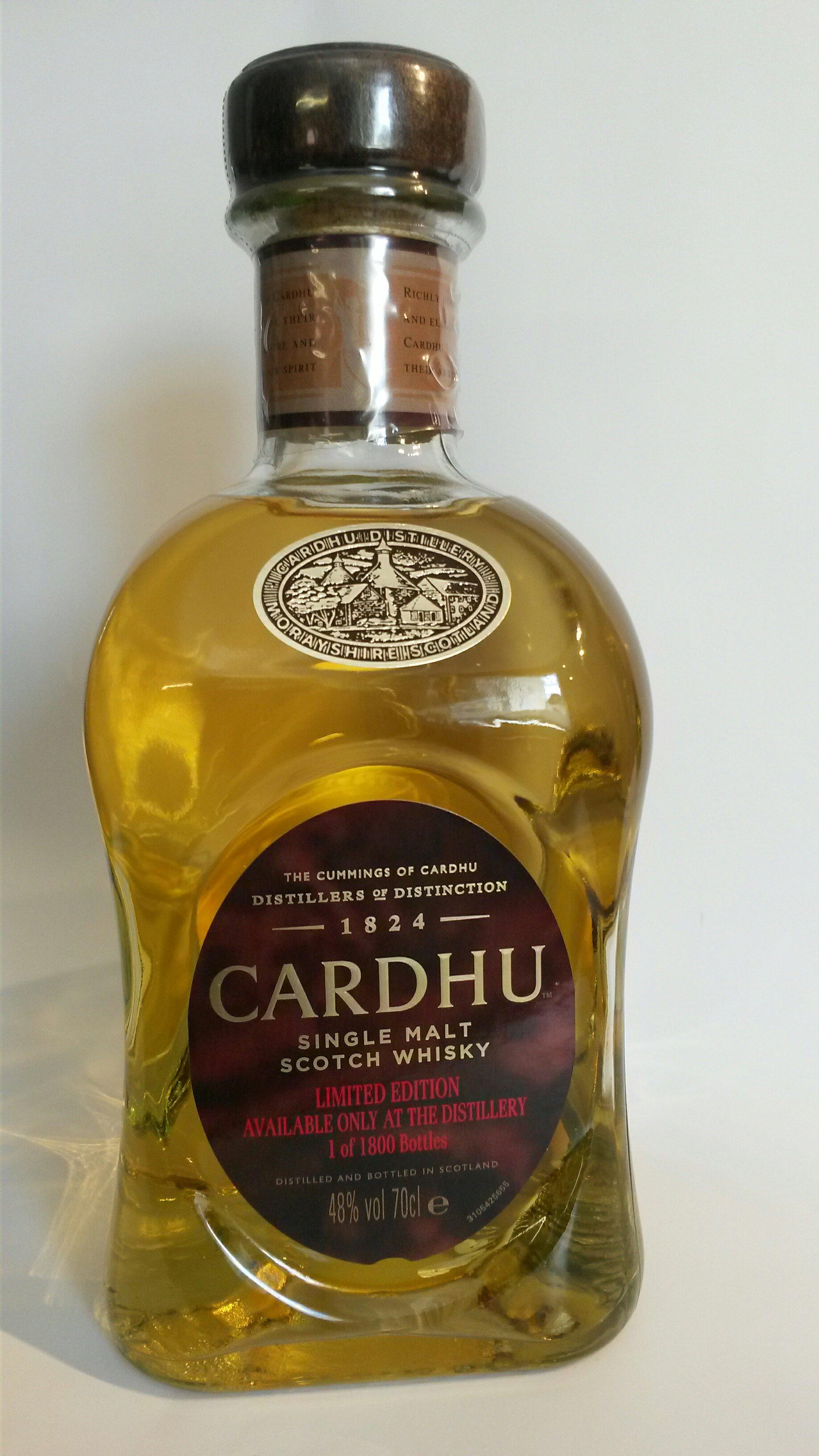 Cardhu Limited Edition (Distillery Only)