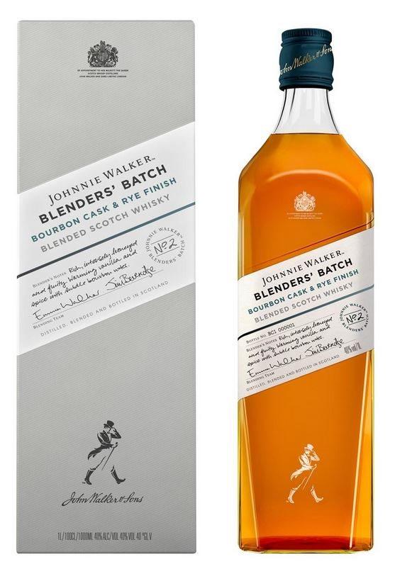 Johnnie Walker Blender's Batch Bourbon Cask & Rye Finish