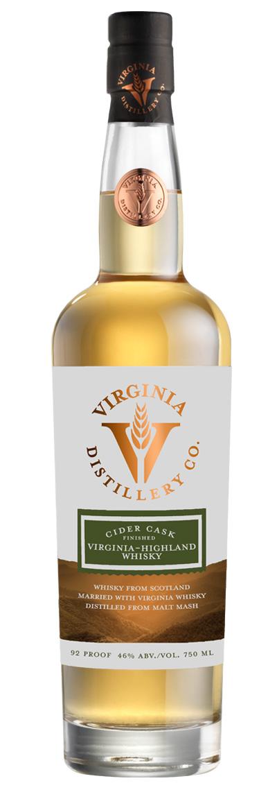 Virginia Distillery Cider Cask Finished