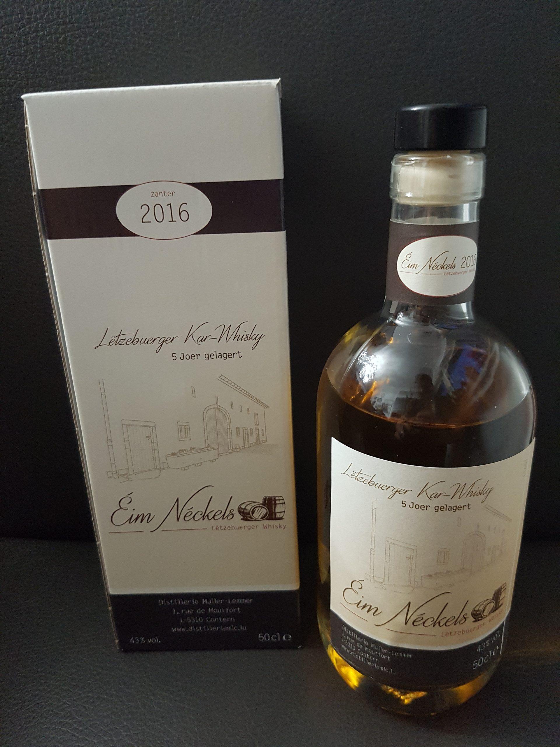 Eim Neckels Letzebuerger Kar-Whisky