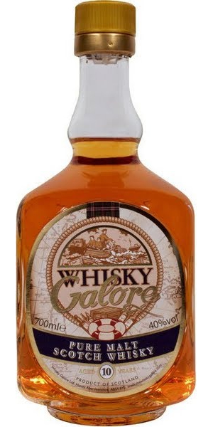 Whisky Galore Pure Malt 10 Year Old
