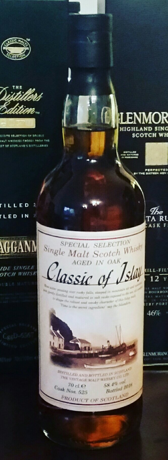 Classic of Islay 2016, cask #525