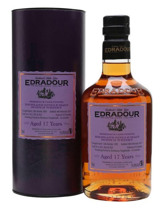 Edradour 1999 Bordeaux Cask Finished