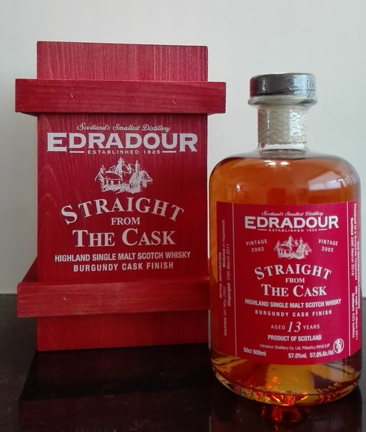 Edradour Straight from the Cask Burgundy (2002)