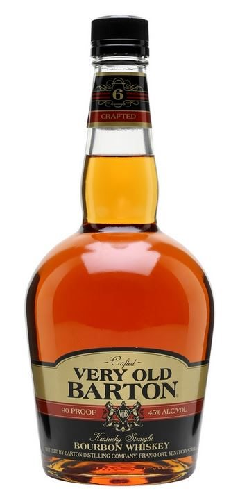 Very Old Barton 06 Year Old 90 Proof