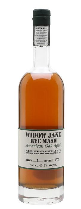 Widow Jane Rye Mash
