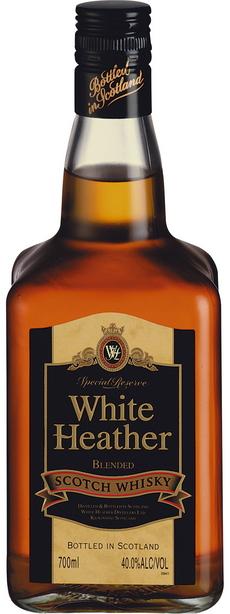 White Heather Blended Scotch Whisky