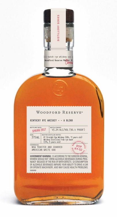 Woodford Reserve Distillery Series Kentucky Rye Whiskey