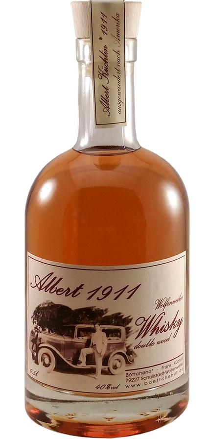Wolfenweiler Whisky Albert 1911