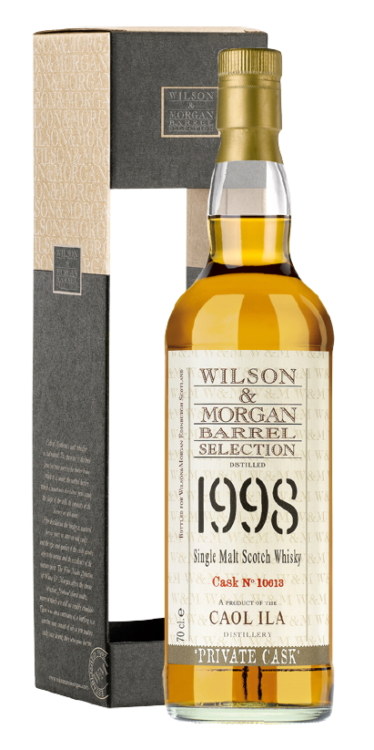 Caol Ila 1998 (Wilson & Morgan, cask #10613)