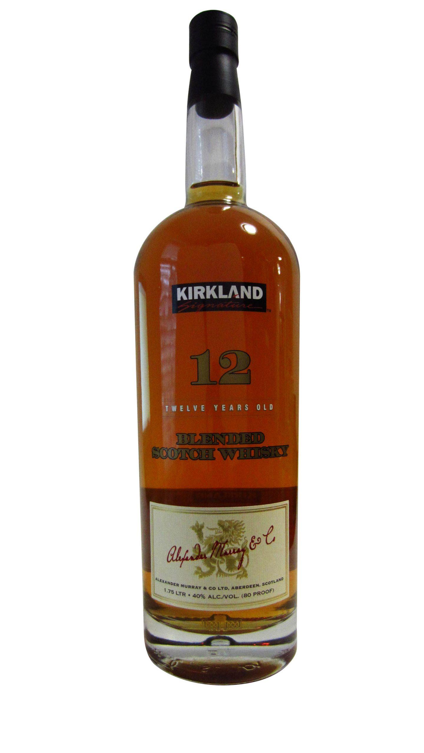 Kirkland Blended Scotch Whisky 12 Year Old
