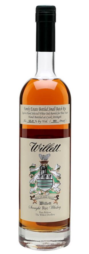 Willett 03 Year Old Small Batch Rye