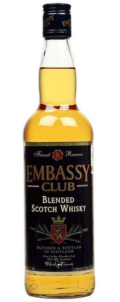 Embassy Club Blended Scotch Whisky