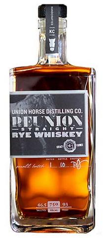 Union Horse Reunion Straight Rye Whiskey