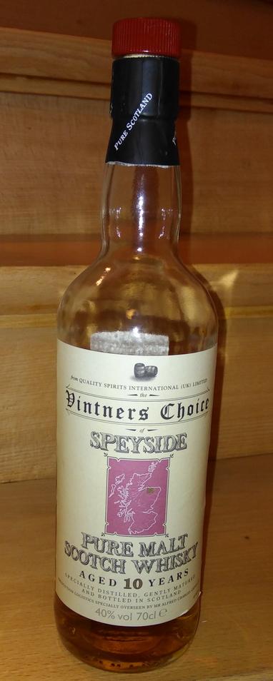 Vintners Choice Speyside 10 Year Old