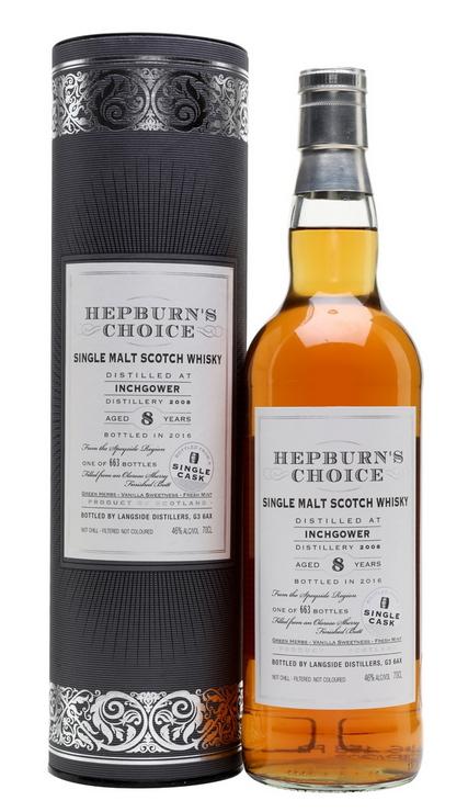 Inchgower 2008 (Hepburn's Choice)