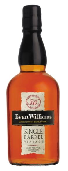 Evan Williams Single Barrel 2007