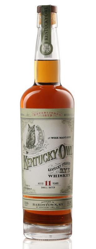 Kentucky Owl Straight Rye Whiskey, batch 01