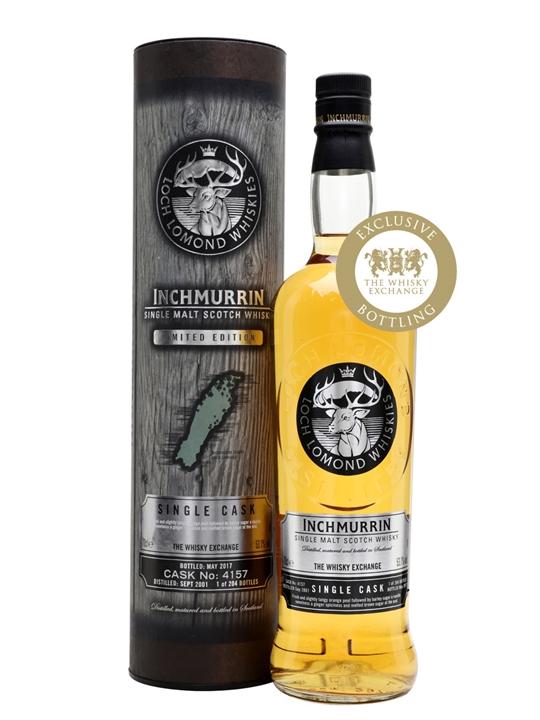 Inchmurrin 2001 Single Cask